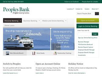 Thumbshot of Peoplesbank-wa.com