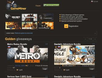 Thumbshot of Gameminer.net