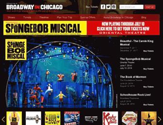 Thumbshot of Broadwayinchicago.com