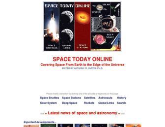 spacetoday.org screenshot