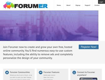 Thumbshot of Forumer.com