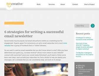 blog.tbhcreative.com screenshot