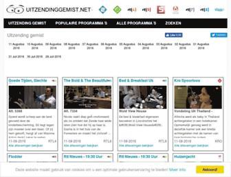 Thumbshot of Uitzendinggemist.net