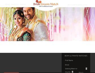 bridegroommatch.com screenshot