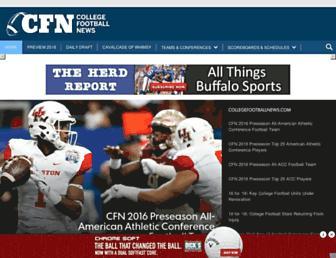 collegefootballnews.com screenshot