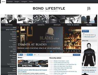 Thumbshot of Jamesbondlifestyle.com