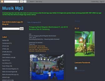 musik-mp3.blogspot.com screenshot