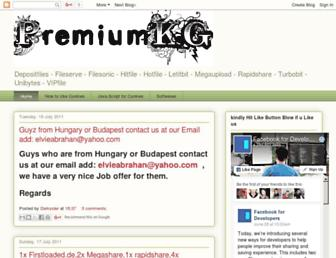 premiumkg.blogspot.com screenshot