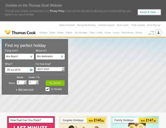Thumbshot of Thomascook.com