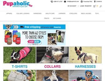 pupaholic.com screenshot