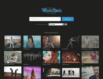 musictonic.com screenshot