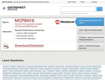 datasheetarchive.com screenshot
