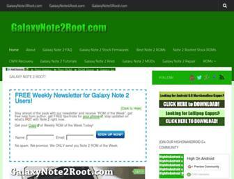 Thumbshot of Galaxynote2root.com