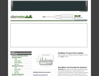 Thumbshot of Sitemeter.com