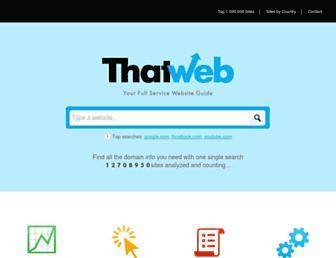 thatweb.com screenshot
