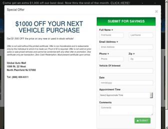 globalautomall.com screenshot