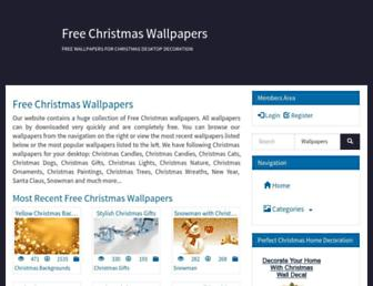 Thumbshot of Freechristmaswallpapers.net