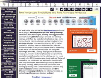 Thumbshot of Freehoroscopesastrology.com
