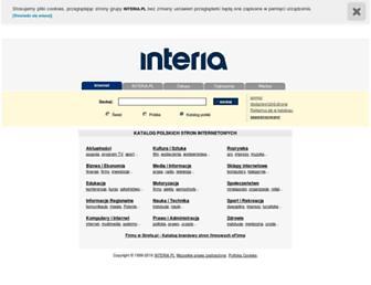 Main page screenshot of katalog.interia.pl