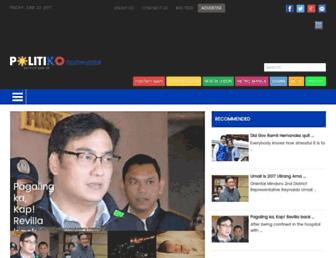 southluzon.politics.com.ph screenshot