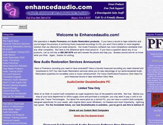 enhancedaudio.com screenshot