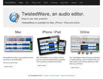 Thumbshot of Twistedwave.com