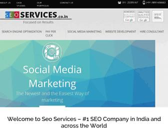 Screenshot for seoservices.co.in