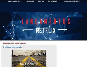 blog.lancamentosnetflix.com.br screenshot