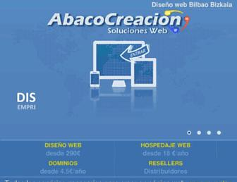 abacocreacion.com screenshot