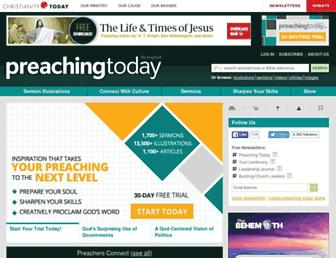 preachingtoday.com screenshot