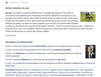 fr.m.wikipedia.org screenshot