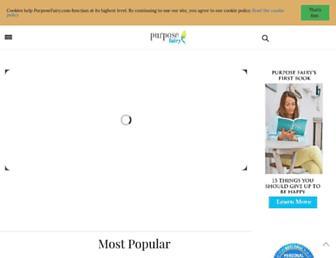 purposefairy.com screenshot