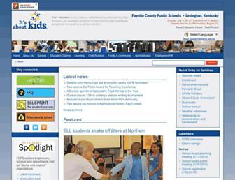 fcps.net screenshot