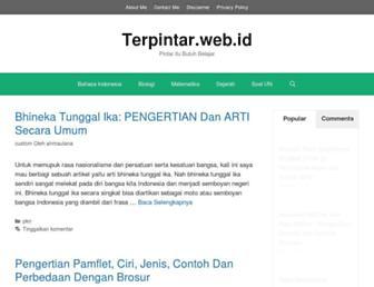 terpintar.web.id screenshot