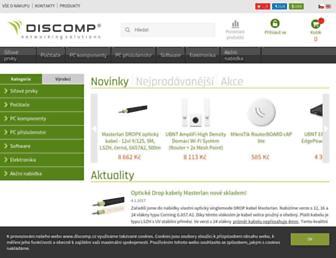 discomp.cz screenshot