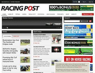 Thumbshot of Racingpost.com