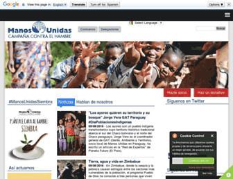 Thumbshot of Manosunidas.org