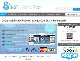 Thumbshot of Imeiunlockpro.com