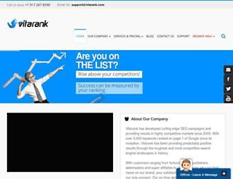 Thumbshot of Vitarank.com