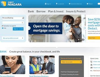 Thumbshot of Firstniagara.com