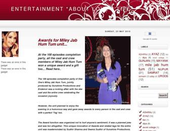 entertain-loveislife.blogspot.com screenshot