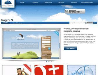 blog.creationdln.ca screenshot