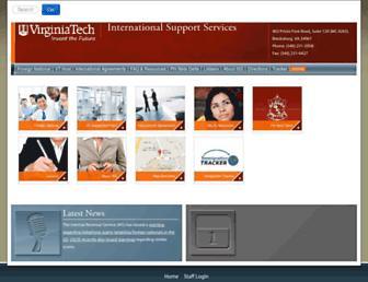iss.vt.edu screenshot