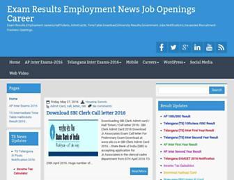 employmentcareer.blogspot.in screenshot