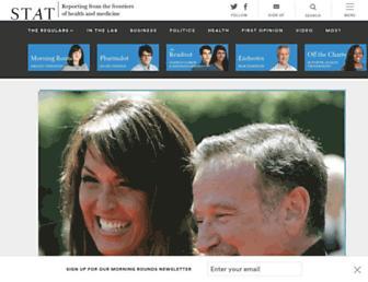 statnews.com screenshot