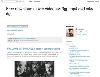 avi3gpmp4dvdmkvdat.blogspot.com screenshot