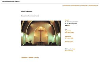 evangelische-gemeinde-beirut.org screenshot