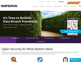imperva.com screenshot