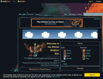 wildstar.gamepedia.com screenshot
