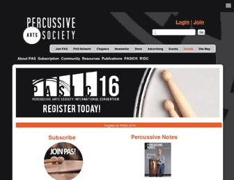 pas.org screenshot
